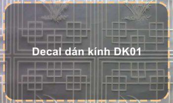 Decal dán kính DK01