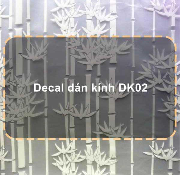 Decal dán kính DK02