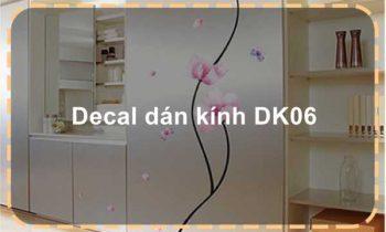 Decal dán kính DK06