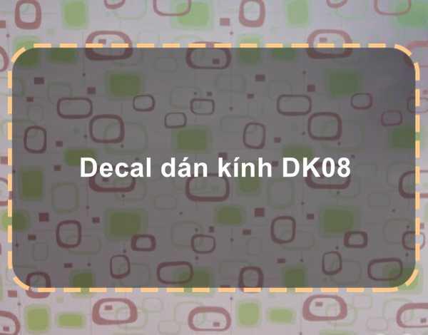 Decal dán kính DK08