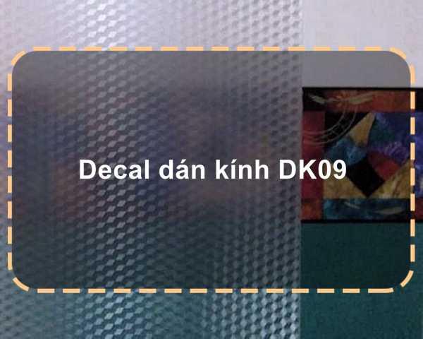 Decal dán kính DK09