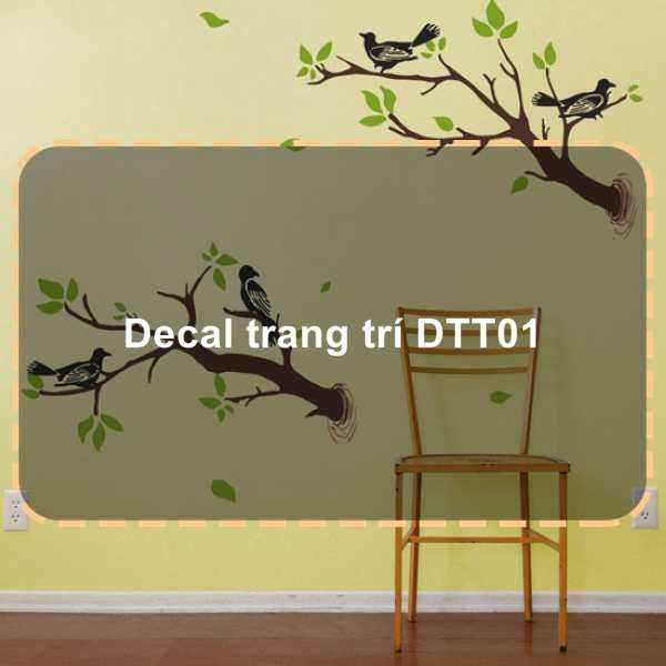 Decal trang trí DTT01