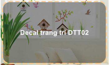 Decal trang trí DTT02