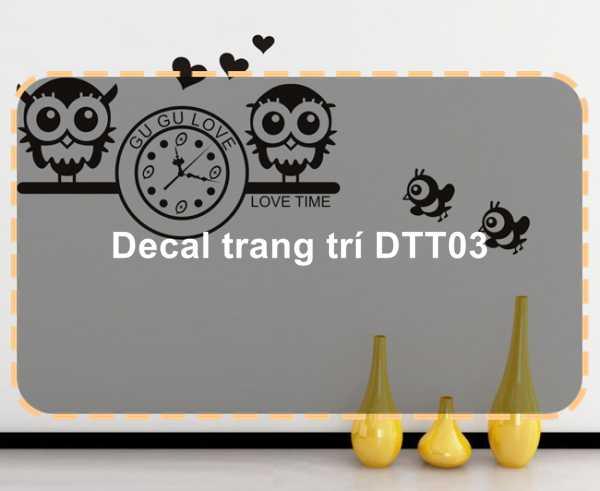 Decal trang trí DTT03