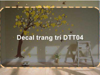 Decal trang trí DTT04