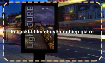 In backlit film chuyên nghiệp giá rẻ